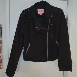 Pink Envelope Moto Jacket